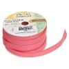 Flat Leather 10x2mm (5m Spool) Pink